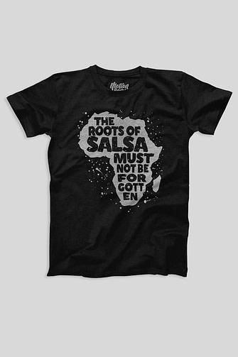 The Roots of Salsa - Men's T-shirt