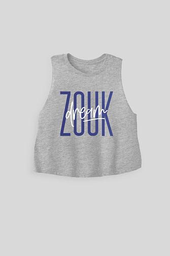 Zouk Dream - Women's Cropped Tank Top