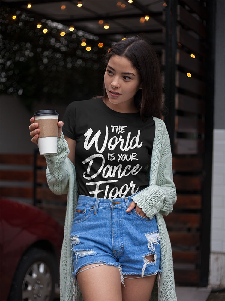 The World Is Your Dance Floor Women's T-shirt