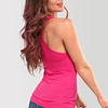 Womens-Tank-Top-Bachata-and-Chill-Raspberry-Pink-0935