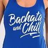 Womens-Tank-Top-Bachata-and-Chill-Royal-Blue-1159