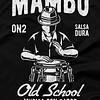 Mens-T-shirt-Mambo-Conga-Black-Large-FPO
