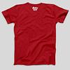 Mens-T-shirt-TheworldIsYourDanceFloor-Red-Back